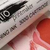 Intaglio Printmaker etching ink Ruby Red 300g