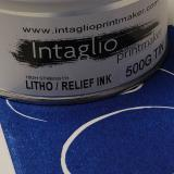 Intaglio Printmaker Litho/Relief Ink Thalo Blue (Red Shade) 500g
